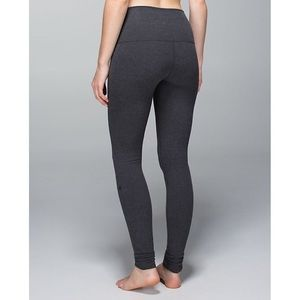 Lululemon Cotton High Waisted Leggings